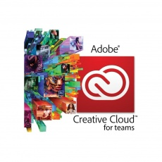 Creative Cloud for teams All Apps with Adobe Stock  Team Licensing Subscription Renewal 1 Month 1-9 level