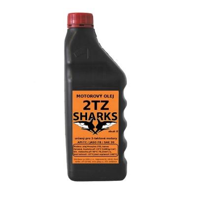 SHARKS Olej pro 2-taktní motory 2TZ