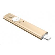 Logitech Wireless Presenter Spotlight Gold