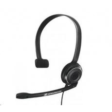 SENNHEISER PC 7 USB black (černý) headset - jednostranné sluchátko s mikrofonem POŠKOZEN OBAL