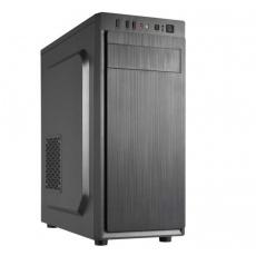 CRONO skříň MT-X3 - MidiTower bez zdroje, 1xUSB 3.0, 2xUSB 2.0, 2x3.5HDD slot, 3x2.5HDD slot