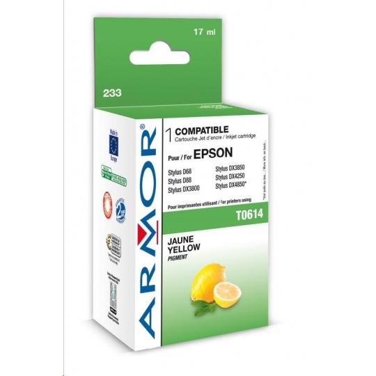 ARMOR cartridge pro EPSON Stylus D68/88/DX3800/4800 Yellow (T061440)