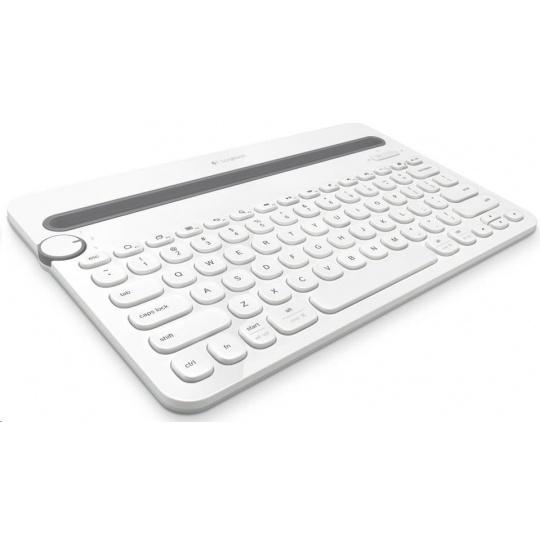 Logitech Bluetooth Keyboard Multi-Device K480, white, US