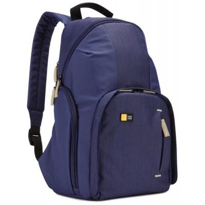 Case Logic batoh TBC411IND pro fotoaparát + 2 ks objektivů, modrá