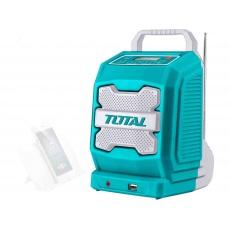 Total TJRLI2001 rádio AKU, 20V Li-ion, 2000mAh, industrial