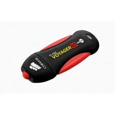 CORSAIR Flash Disk 64GB Voyager GT, USB 3.0, černá/červená