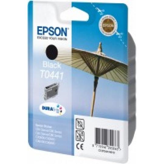 "EPSON ink čer DURABrite ""Slunečník"" Stylus C64/C66/C84/C86/CX6400/CX6600/CX3600/CX3650 - black"