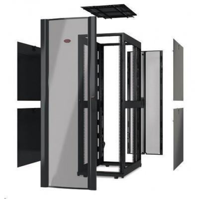 APC NetShelter SX 48U 750mm Wide x 1200mm Deep Enclosure Without Sides, Black