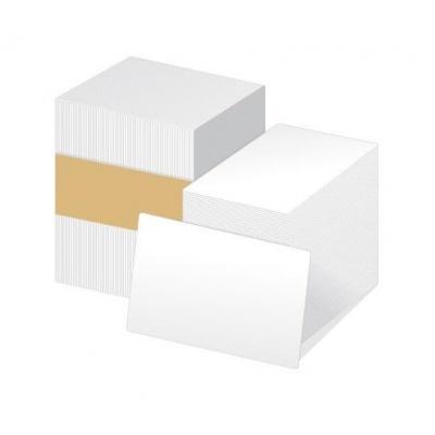 ZEBRA PVC 0,38 (15mil) karty pro ZXP/ZC , balení 500ks karet na potisk, bílá barva