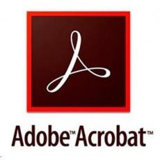 Acrobat Standard DC WIN Multi Euro Lang TM LIC SUB New 1 User Lvl 1 1-9 Month