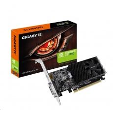 GIGABYTE VGA NVIDIA GT 1030 Low Profile D4 2G, 2GB DDR4, 1xHDMI, 1xDVI