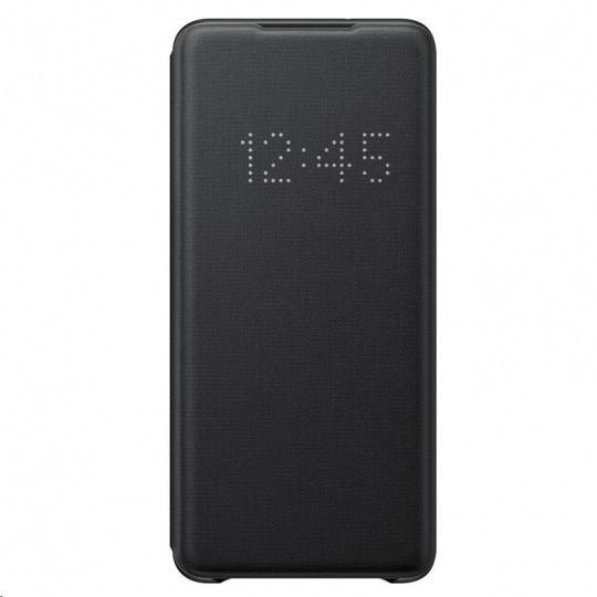 Samsung pouzdro LED S-View EF-NG985PBE pro Galaxy S20+, černá