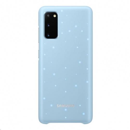 Samsung kryt LED EF-KG980CLE pro Galaxy S20, modrá