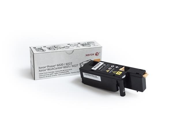 Xerox toner Yellow pro Phaser 6020, 6022, WorkCentre 6025, 6027 (1000 str, yellow)
