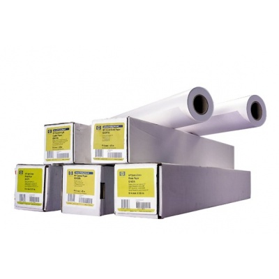 HP Heavyweight Coated Paper-1067 mm x 30.5 m (42 in x 100 ft),  35 lb,  130 g/m2, C6569C