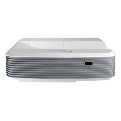 Optoma projektor W320UST (DLP. WXGA, FULL 3D, 4 000 ANSI, 20 000:1, 2x HDMI, 2x VGA, 16W speaker, NET)