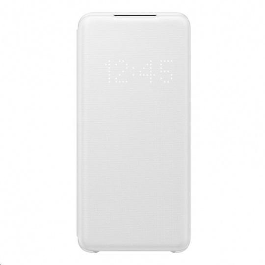Samsung pouzdro LED S-View EF-NG980PWE pro Galaxy S20, bílá