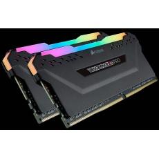 CORSAIR DDR4 16GB (Kit 2x8GB) Vengeance RGB PRO DIMM 3200MHz CL16 černá