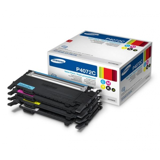 Samsung CLT-P4072C 4-pk CYMK Toner Cr