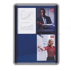 Vitrína AVELI informační magnetická, 9xA4