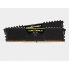 CORSAIR DDR4 16GB (Kit 2x8GB) Vengeance LPX DIMM 3200MHz CL16 černá