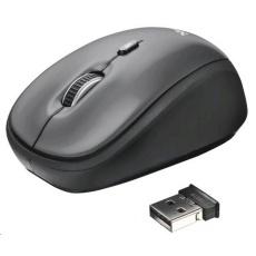 TRUST Myš Yvi Wireless Mini Mouse USB, bezdrátová
