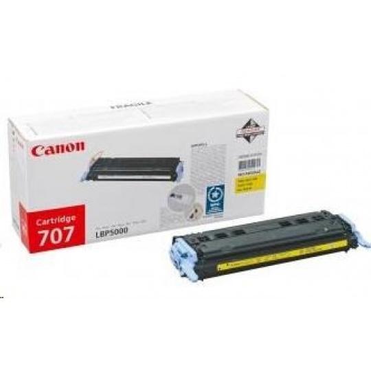 Canon LASER TONER yellow CRG-707Y  (CRG707Y) 2 500 stran*