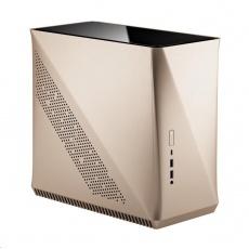 FRACTAL DESIGN skříň Era ITX, USB 3.1 Type-C, 2x USB 3.0, champagne gold, bez zdroje