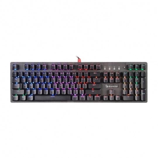 A4tech Bloody B810R mechanická RGB herní klávesnice, USB, CZ, NetBee