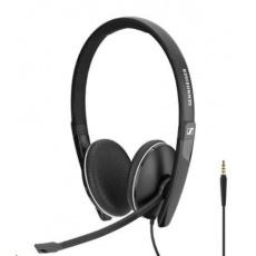 SENNHEISER SC 165 Jack 3,5mm, headset - oboustranná sluchátka s mikrofonem