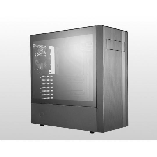 Cooler Master case MasterBox NR600 with ODD, ATX, Mid Tower, černá, bez zdroje