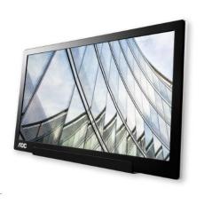 "AOC MT IPS LCD WLED 15,6"" I1601FWUX - IPS panel, 1920x1080, 220cd, USB-C, usb napajeni"