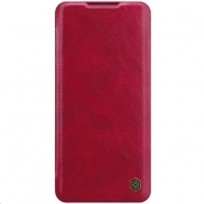 Nillkin Qin Leather Case pro Xiaomi Mi Note 10 / 10 Pro (Red)