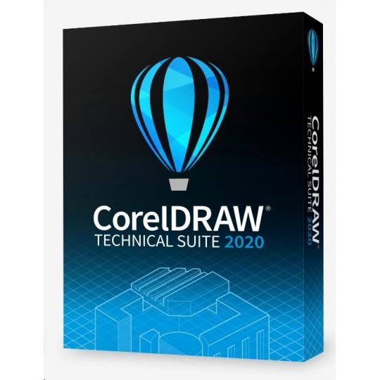 CorelDRAW Technical Suite 2020 Education License (Single User) EN/DE/FR