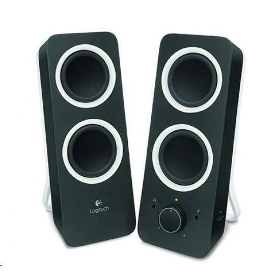 Logitech Multimedia Speakers 2.0 Z200 Midnight Black
