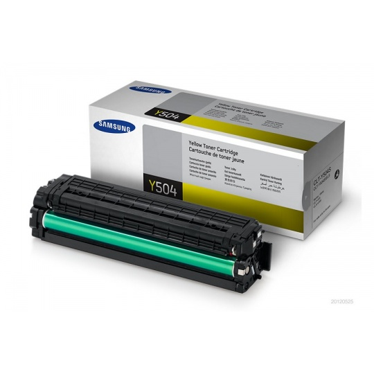 Samsung CLT-Y504S Yellow Toner Cartri