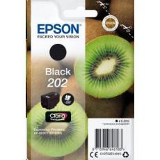 """EPSON - poškozený obal - ink čer Singlepack """"Kiwi"""" Black 202 Claria Premium Ink 6,9 ml"""
