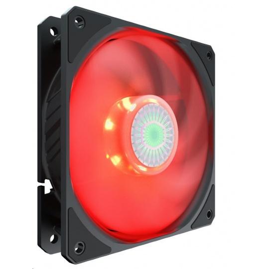 Cooler Master ventilátor SickleFlow 120 Red