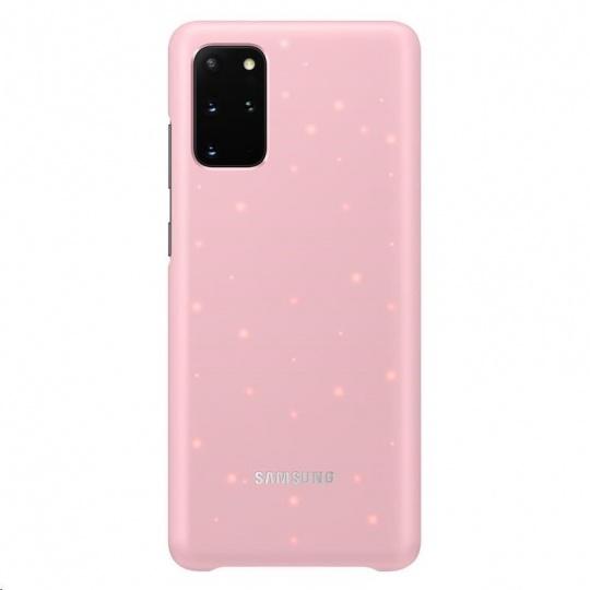 Samsung kryt LED EF-KG985CPE pro Galaxy S20+, růžová