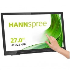 """HANNspree MT LCD HT273HPB 27"""" Touch Screen Monitor 1920x1080, 16:9, 300cd/m2, 1000:1 / 80M:1, 8 ms"""
