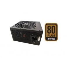 Fortron zdroj FSP500-50AAC 80PLUS BRONZE, 500W, černá