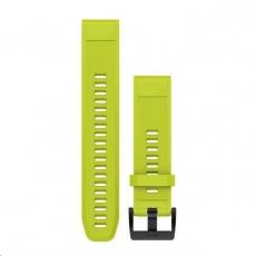 Garmin řemínek náhradní pro fenix5/Quatix5/Forerunner 935 - QuickFit 22, žlutý