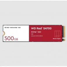 WD RED SSD NVMe 500GB PCIe SN700, Geb3 8GB/s, (R:3430/W:2600 MB/s) TBW 1000
