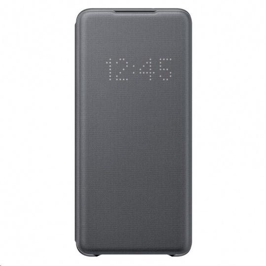 Samsung pouzdro LED S-View EF-NG985PJE pro Galaxy S20+, šedá