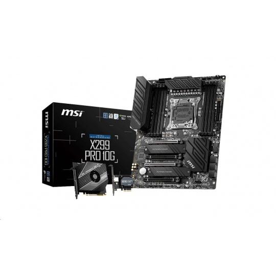 MSI MB Sc 2066 X299 PRO 10G