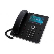 AudioCodes IP telefon 450HD, grafický displej, 10/100/1000 Mbps, PoE, černá, napájecí zdroj