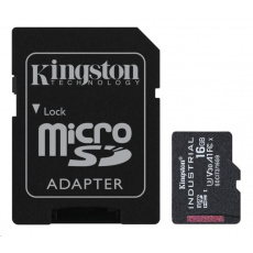 Kingston 16GB microSDHC Industrial C10 A1 pSLC Card + SD Adapter