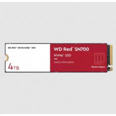 WD RED SSD NVMe 4TB PCIe SN700, Geb3 8GB/s, (R:3400/W:3100 MB/s) TBW 5100