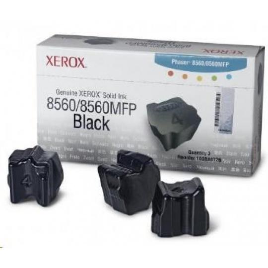 Xerox Genuine Solid Ink pro Phaser 8560 Black (3 STICKS)