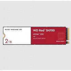 WD RED SSD NVMe 2TB PCIe SN700, Geb3 8GB/s, (R:3400/W:2900 MB/s) TBW 2500